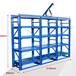 制作鋼架抽屜式貨架/倉庫服裝貨架/甘肅模具架貨架