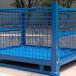 周轉箱定制/折疊金屬周轉箱/吉林重型周轉箱倉儲鐵框