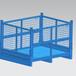 物料箱金屬/金屬可折疊周轉箱/東營可折疊可移金屬箱金屬框