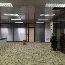 东莞长安办公室玻璃隔墙-长安玻璃隔墙厂家图片