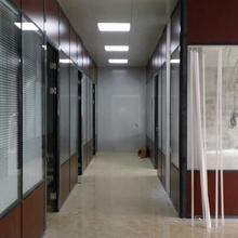 东莞虎门办公室玻璃隔墙-东莞玻璃隔墙厂家图片