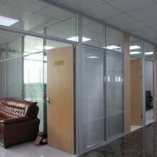 寶安辦公室隔間百葉隔間玻璃隔斷高隔斷定做多少錢圖片