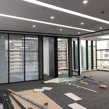 宝安办公室铝合金百叶玻璃隔断-宝安办公室玻璃隔断图片