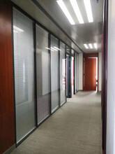 深圳南山定制辦公室鋁合金高隔斷優質服務,辦公高隔斷圖片