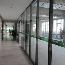 深圳办公室中空玻璃隔断/深圳办公室高隔间图片