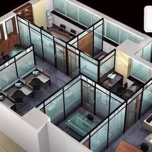 美隔辦公高隔斷,深圳南山優質辦公室鋁合金高隔斷質量可靠圖片
