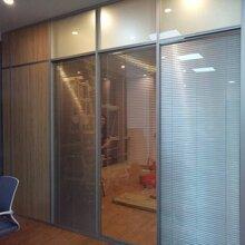 龙岗横岗办公室玻璃高隔断厂家价格图片