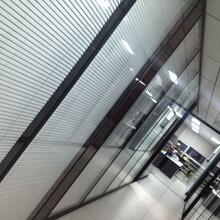 制造辦公鋁合金玻璃隔斷價格實惠,辦公玻璃隔斷圖片