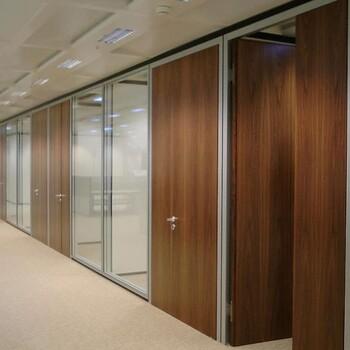 福田办公室中空百叶双层玻璃百叶隔断找厂家定制