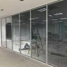美隔高隔斷,深圳南山定制辦公室鋁合金高隔斷設計合理圖片