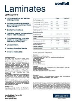 合成石\绝缘材料\Contaval2576GP\瑞士ISOLACDM(68910、68940、68610)