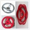 专业加工批发250外径10寸方边铸铁镀铬波纹机床手轮