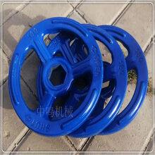 厂家供应内孔异型定做手轮机床铸铁镀铬手轮中鸣机械图片