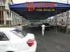 成都雨棚厂家定制伸缩式推拉雨篷活动式帐篷