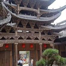 古建寺庙祠堂厂家定做寺庙祠堂生产设计图片