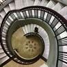 供应阁楼旋转楼梯钢结构大型旋转弯梯