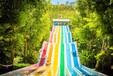 山東大型彩虹滑道彩虹滑道專業定制彩虹滑道規格
