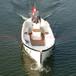 7.8米柴油動力歐式休閑艇玻璃鋼豪華游艇