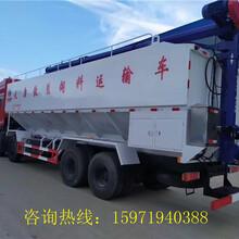 沛县饲料运输车生产基地,厂家地址,最低价格图片