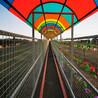 乘坐景區魔毯登高望遠溫州魔毯輸送帶檔位調節范圍