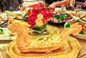 宝安区居家宴会待客上门、晚宴自助餐配送、精品自助餐外卖图片