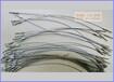 专业纺织机械耐磨钢丝绳涂尼龙耐磨钢索压制索具生产厂家