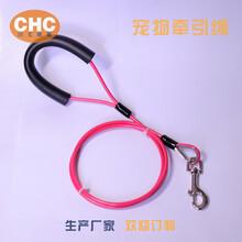 寵物繩,狗狗牽引繩,涂塑彩色寵物狗繩狗鏈圖片