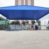 伸缩雨棚大型排挡棚