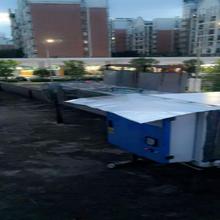 肇庆工厂无尘车间通风工程厂家质量保证白铁通风管图片