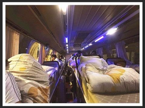 (客車)青島到朝陽大巴車+汽車及車站