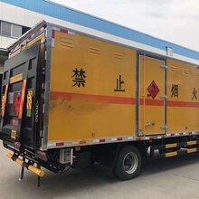 1至9类气瓶甲醇废机油杂项危化品易燃液体厢式运输车图片