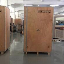 广州专业定制钢带木箱哪家比较好钢带包边木箱安达钢带木箱图片