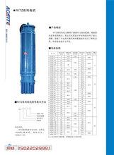 廊坊200QJ系列深井潛水泵大流量球墨鑄鐵深井泵推薦品牌圖片