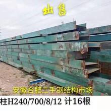 焦作二手钢结构出售回收旧钢结构厂家图片