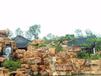 潮州专业承接黄蜡石假山工程黄蜡石假山