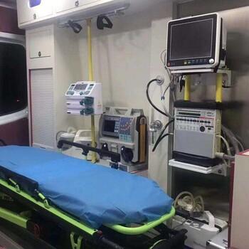 2019阿里长途救护车出租推荐、阿里救护车电话
