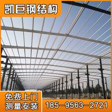 厂家定制轻钢结构20米30米40米跨度钢结构仓库厂房图片