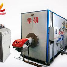 一台燃气蒸汽锅炉都由啥组成,学研热能机来揭晓
