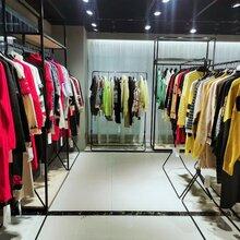 广州卡丽娅品牌折扣女装色彩斑斓森塔斯毛衣库存商品批发图片
