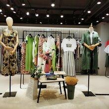 夏季韩版复古民族风连衣裙品牌折扣女装批发货源