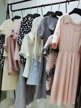 品牌折扣女裝干練氣質復古民族風寬松連衣裙名品折扣