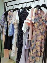 女裝折扣品牌折扣女裝女中長款風格修身連衣裙
