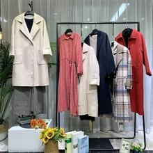 上海高端品牌莫名品牌折扣女裝庫存棉麻襯衫走份批發貨源圖片