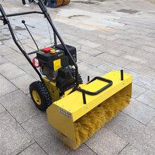 厂家热销6.5马力汽油驱动手扶自走式马路道路清扫车图片