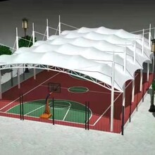 徐州專業承接景觀篷定做膜結構景觀篷圖片
