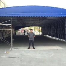 徐州專業承接推拉蓬廠家定做伸縮蓬圖片