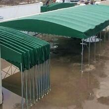 徐州專業承接推拉蓬廠家定做伸縮蓬典牧膜結構工程圖片