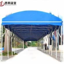 徐州專業承接推拉蓬廠家定做典牧膜結構工程圖片