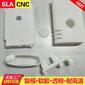 硅膠復膜SLA透明手板東莞3D打印手板模型加工圖片