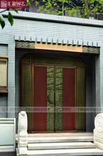 廣東匯盈銅門廠家面向各區招商加盟、焊接工藝真銅門廠家圖片